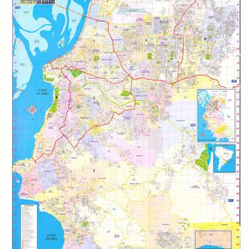 Imagem do mapa da 2º Zona de Porto Alegre Todas as Zonas de Reg. de Imóveis de Porto Alegre